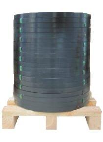 Staalband EW 16 x 0,5 mm zwart gelakt 634 kg